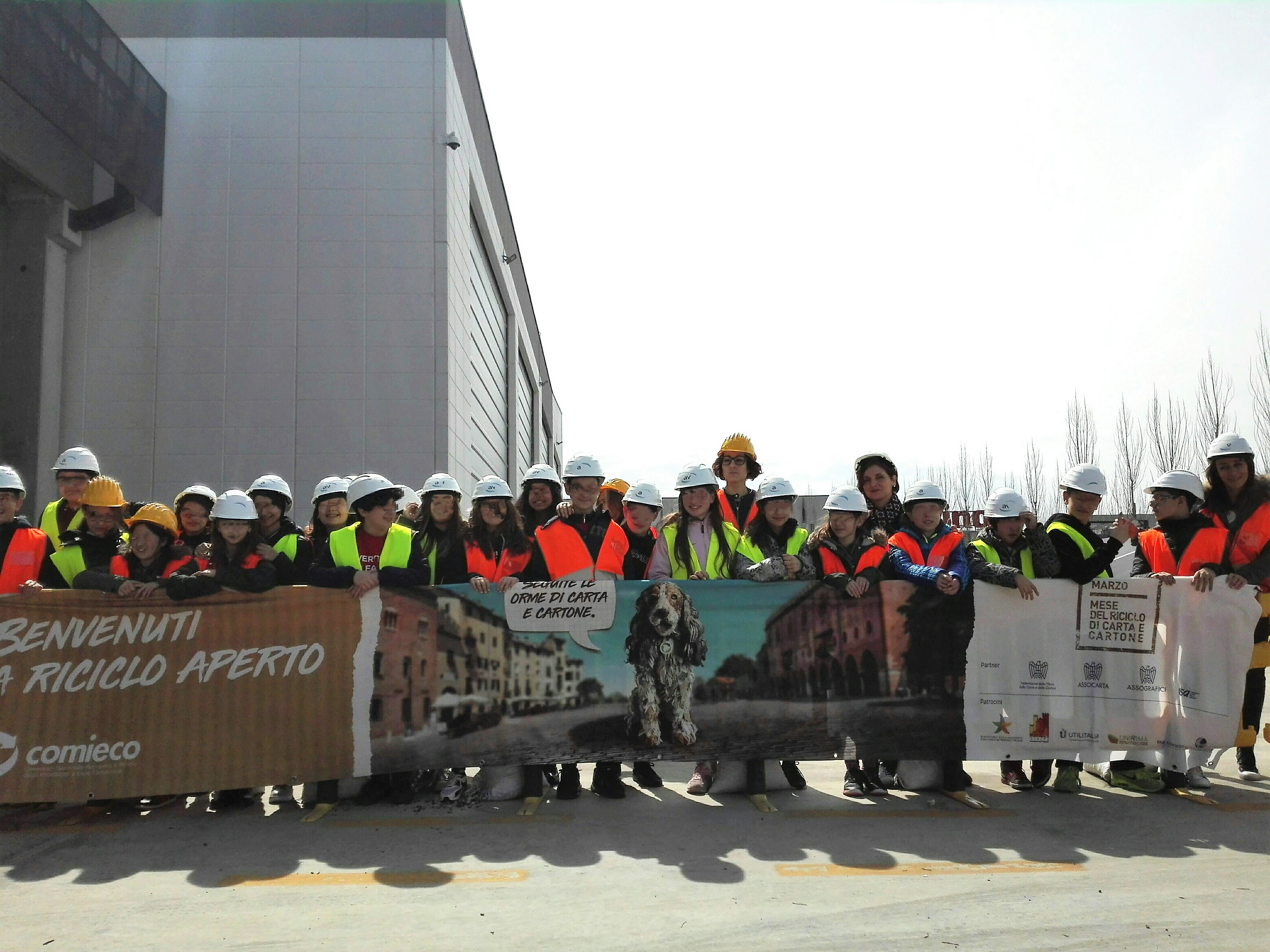 Campania rete per il packaging sostenibile treno verde
